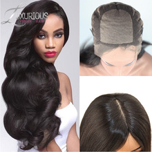 100%Brazilian Full Lace Wig Silk Top Virgin Human Hair Glueless Silk Top Full Lace Wigs Body Wave With Silk Base For Black Women