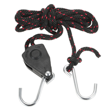 Kayak Canoe Boat Pulley Rope Lock Bow Stern Tie Down Strap Adjustable Rope Hanger with Hook 3.0m Fishing Kayak Accessories(China)