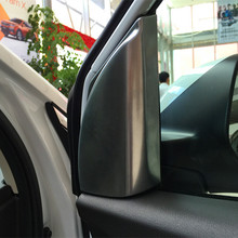 2pcs/lot car styling loudspeaker covers for Honda Crv 2015 accessories (low / high configuration)
