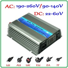 300W Grid Tie Inverter 22-60VDC Input Pure Sine Wave 190-260VAC or 90-140VAC Output MPPT Battery Wind Solar on grid inverter(China)