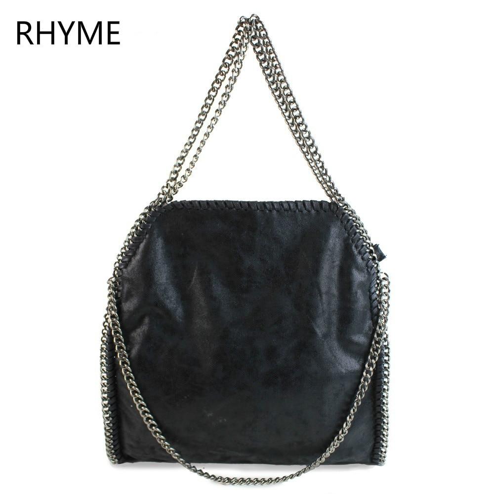 Rhyme Stella Women Bag Shoulder Bag Falabellas Tasche with 3 Chains Evening Bolso Socialite Tote Fashion Sac A Main Lady Torba<br><br>Aliexpress