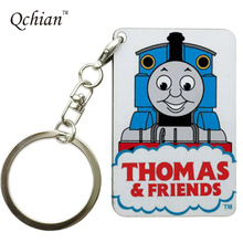 Thomas the Tank Engine Series Printed HandBag and Backpack Ornaments Pendant Keyring Key Holder Pictures can be Customized
