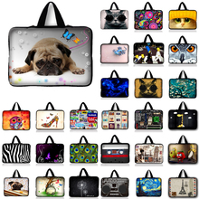 10.1 12 13 13.3 14 15.4 15.6 17.3 Laptop Notebook Computer PC Handle Sleeve Case Bag Cover Pouch For Samsung Sony Lenovo Asus(China)