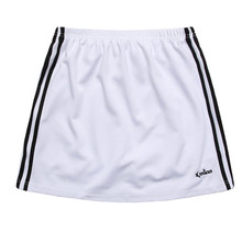 Promotion Women 테니스 Skirts Striped 배드민턴 스포츠 Training Skort 대 한 Girls 와 Safety Shorts(China)