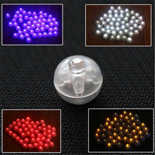10Pcs Coloured Round LED Balloon Lights Lamp for Paper Lantern Wedding Christmas Party Decoration