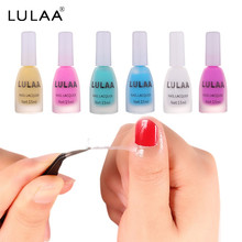 LULAA Spill Glue Soak Off Nail Art Latex Tape Nail Polish Peel Off Liquid Tape Spill Protection Solution Primer Spill Glue(China)