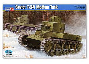 HOBBYBOSS rising Soviet 24 medium T - 82493<br><br>Aliexpress