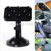 NEW!!! Car Mount Silicone Sucker Phones Holder Bracket Stands for iPhone 6 5 4S Samsung Galaxy S5 S3  LG/ HTC//Nokia GPS MP4 PDA