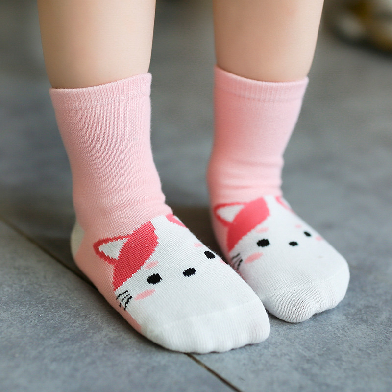 children socks cotton socks wholesale manufacturers Android products and cartoon animal female cotton socks(China)