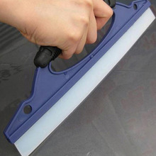 Universal Auto Car Water Wiper Scraper Blade ABS Rubber Vehicle Windshield Window Washing Cleaner D Shape