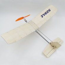 TY Model 3-3 370mm Wingspan Balsa Wood Laser Cut RC Airplane KIT(China)