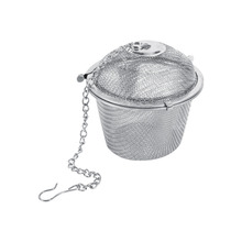 Factory Price 6.5cm Practical Tea Ball Sphere Spice Strainer Mesh Infuser Filter Stainless Steel Herbal(China)