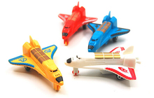 Simulation 4pcs/lot Pull Back Airplane Gift Children's toys Model plane Educational(China)