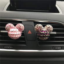 Drill Vehicle Perfume Diamond Mickey Mickey Head Outlet Perfume Car Decoration Car-styling Perfumes 100 Original Car Freshener