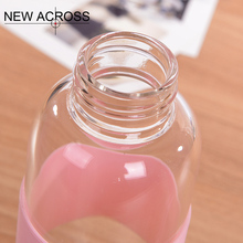 Gohide 1Pcs Fashion Sports Water Bottle Leak-Proof Heat Resistance Bottle With Lift Rope Convenient To Carry Customized In Bulk