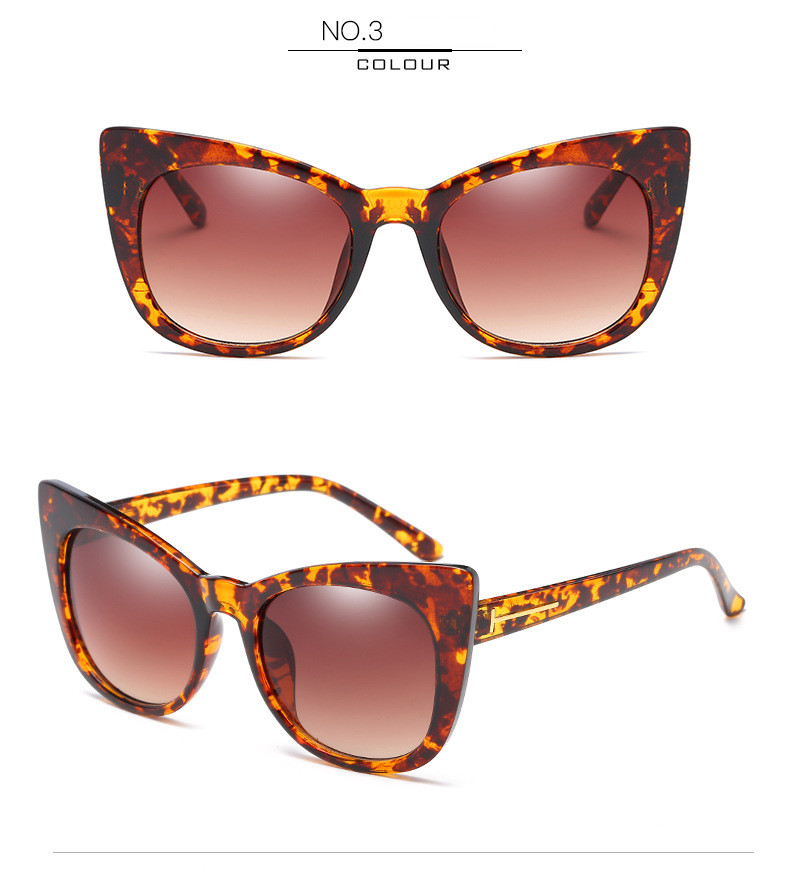 Luxury Vintage Cat Eye Sunglasses Women Brand Designer Retro Female Sunglass Points Sun Glasses For Women Ladies Sunglass Mirror (9)