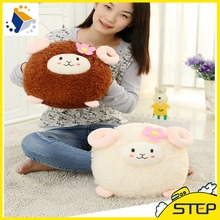 2016 Free Shipping 30cm Cute Sheep Plush Toy Stuffed Lamb Toy Brown White Baby Toys Birthdy Gifts for Kids ST154(China)