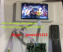 High Quality TV PC HDMI CVBS RF USB LCD Controller Board With 10.1inch B101EW05 1280*800 Lcd Panel + Touch Screen 100% Test