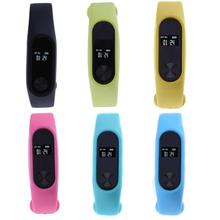 Sports Smartband Passometer Activity Fitness Tracker Message Reminder Heart Rate Sleep Monitor Smart Wristband Bracelet 6 Colors(China)