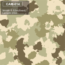 CAM-014 Camo Vinyl Car Wrap Sticker fashion Camouflage Car Wrapping Film Motorcycle  Vehicle Covering Matte/Glossy Finish