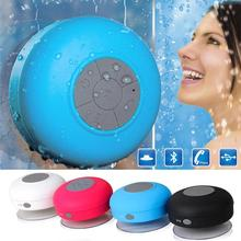 Portable Water proof  Speaker Bluetooth Mini Boombox with Chuck Sound box Home Shower Speaker with Microphone Hoparlor For phone