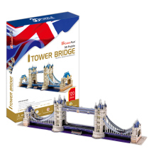 Cubic Fun 3D Paper Puzzle Toy Tower Bridge (UK) Model DIY 120pcs Puzzle Toy MC066h