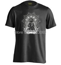 Om Aum Buddha Chakra Mens & Womens Personalized T Shirt Custom T Shirt