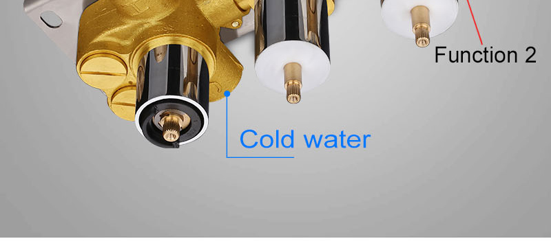 hm 2 Functional Channels High Flow 70L Temperature Thermostatic Controller Water Mixer Bath Shower Brass Chrome Mixer Finishing (15)
