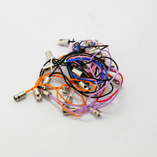 30pcs/lot Random Mixed Color Cell Phone Strap Charms Pendant Assorted Phone Cord Phone String Decoration DIY Jewelry Findings