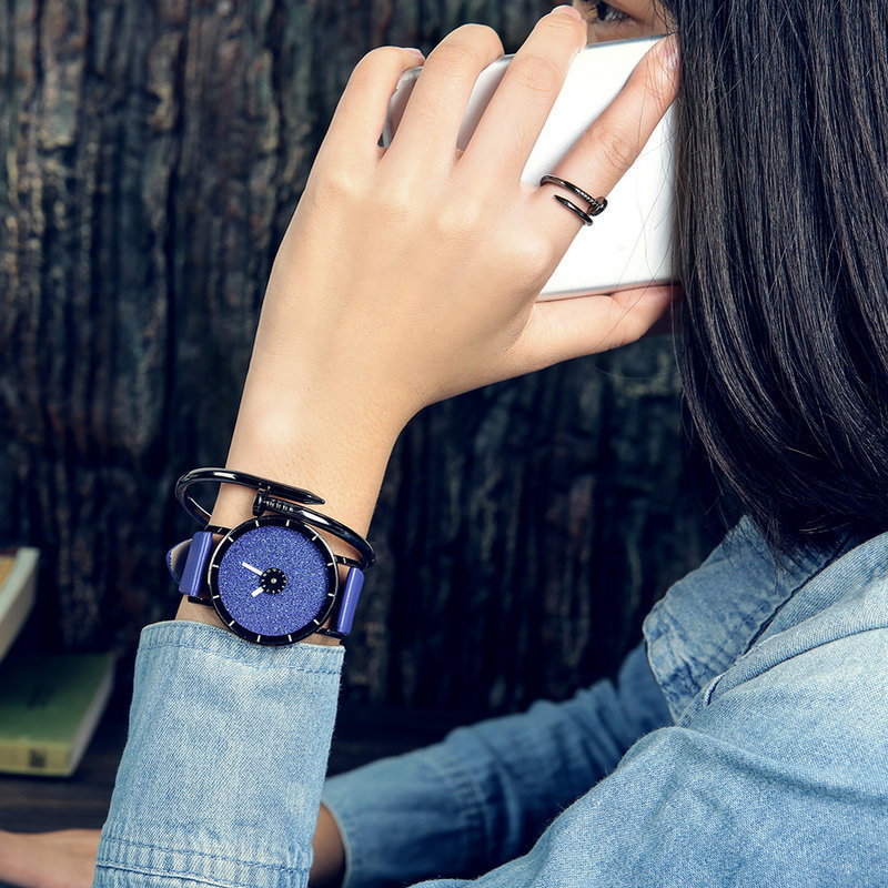 Classic Simple Star Women Watch Men Top Famous Luxury brand quartz watch Leather Student watches For Loves relogio feminino<br><br>Aliexpress
