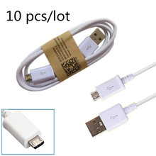 10 pcs/lot wholesale 1m Micro USB Mobile Phone Charge cord USB data Charger Cable for Samsung galaxy s4 a3 a5 a7 j5 s7 htc nokia