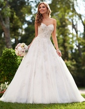 Romantic Princess Wedding Gowns Sexy Sliver Lace Wedding Dress 2016 China Wedding Dresses Plus Size Vintage Bride Dress Weeding