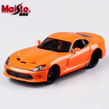 Maisto Dodge 2013 SRT Viper GTS 1:24 Alloy Car Model Toys Diecasts & Toy Vehicles Collection Kids Toys Gift