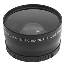 Top Deals 58mm 0.45X Super Wide Angle Lens