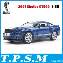 Kinsmart 1:38 5'' FORD 2007 Shelby GT 500 Cobra Alloy Model Toys Pull Back Car(China)