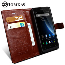 Cover Case For Doogee X5 Max / X5 Max Pro Flip PU Leather Wallet Case For Doogee X5 Max Pro With Card Holder Stand Coque TOMKAS(China)