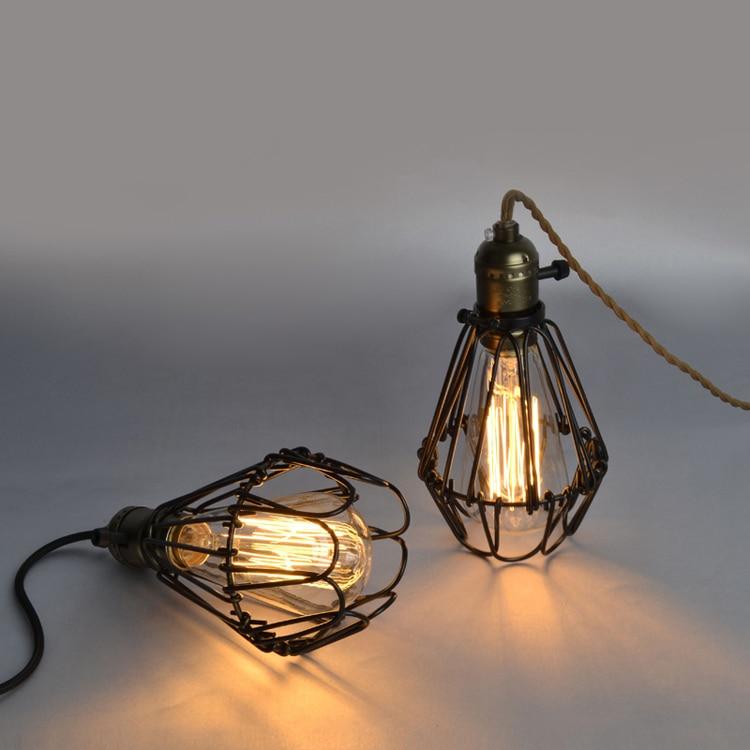 Ecolight Free Shipping Vintage Pendant Lamps 1 Light E26 E27 110V 220V Dinning Living Room Loft Lights<br>