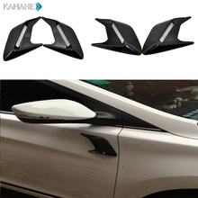 2PCS Mesh Air Flow Fender Car Styling Modified Shark Gill Side Vent Auto Racing Body Decal for Cadillac Buick Chevrolet Lincoln(China)