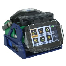 7S Fast Splicing 17S Heating  Eloik ALK-88A Fiber Optic Splicing Machine Fusion Splicer with Removable Battery