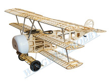 Balsawood Airplane Model Laser Cut Electric Power Fokker 770mm Wingspan Building Kit Woodiness model /WOOD PLANE