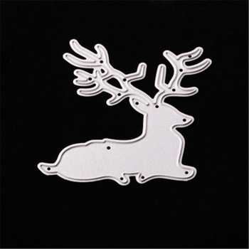 Deer Metal Cutting Dies Stencil DIY Scrapbooking Decorative Craft Photo Album Embossing Folder Paper Crad