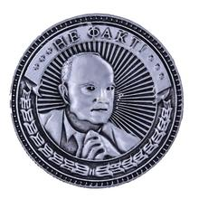 "Factory direct sale! ""Sure - not a fact"".Big coins Soviet union leader Metal copy coins.Wholesale Russian Lenin's head COINS(China)"