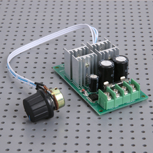 PWM DC 6-60V DC Motor Controller Electric Drive Pusher Linear Actuator Motor Speed Regulator PLC Single Chip Microcomputer