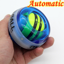 New Product Fully Automatic Top Quality Forceball Gyroscope PowerBall Gyro Power Ball Wrist Exercise LED +Speed Meter Counter