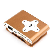 Hot sale NC1888 Vogue Mini Clip Metal USB MP3 Player Support Micro SD TF Card Music Media promotion