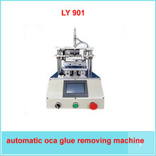 LY 901 automatic Touch screen oca glue removing machine for iphone mobile