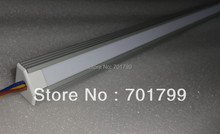 1M long DC5V WS2812 32LEDs led digital bar light,with milky cover;V type Alu housing(China)