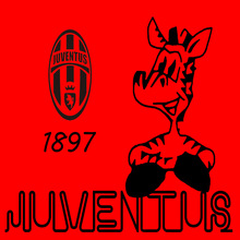 Vanco new 7009 Juventus football comic carved wall stickers in English foreign trade wholesale