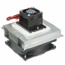 Thermoelectric Peltier Refrigeration Cooling Cooler 12V Fan Radiator Peltier TEC1-12706 System Heatsink Kit for Computer