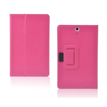 Fashion Silk Pattern PU Leather Folding Folio Case  for HP Slate 7 for 7'' Tablet PC Cover Case